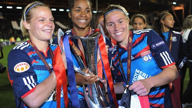 K.-o.-Phase der Women's Champions League beginnt