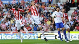 Kenwyne Jones & Ryan Shawcroft (Stoke City FC)