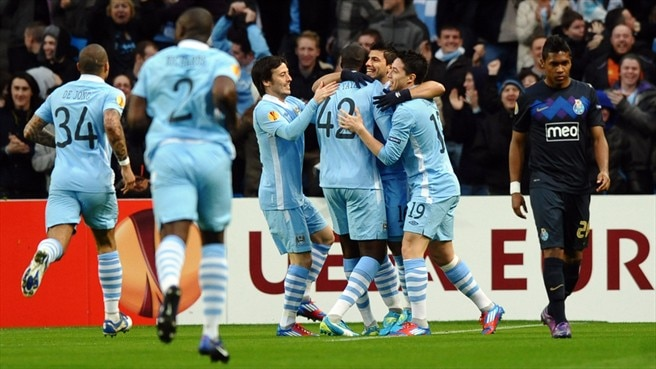 City beendet Portos UEFA-Europa-League-Traum