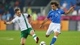 Highlights von der EURO 2012: Italien - Republik Irland 2:0
