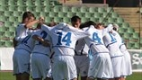 Bosnia and Herzegovina huddle