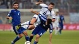 Edin Džeko (Bosnia and Herzegovina) & Sokratis Papastathopoulos (Greece)