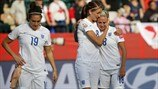 England players Look dejected