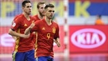 Highlights: Ukraine - Spanien