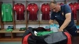 kit manager Joao Ramos (Portugal)