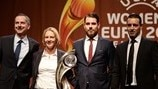 Group C coaches (Women's EURO Final Tournament Draw)