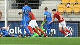 Highlights der U19 EURO: Ukraine - England 1:1