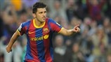 Barcelonas David Villa