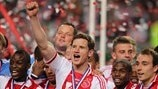 AFC Ajax players celebrate