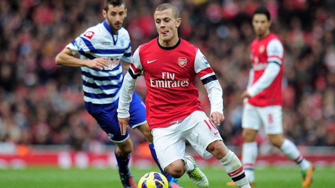 Arsenal siegt bei Wilshere-Comeback