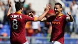 Erik Lamela & Francesco Totti (AS Roma)