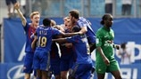 PFC CSKA Moskva players celebrate