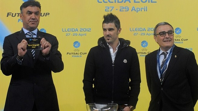 David Villa (UEFA Futsal Cup finals draw)
