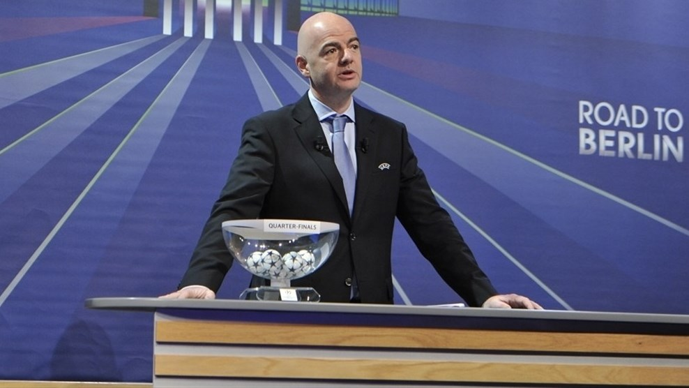 Uefa champions league quarter final draw