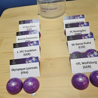 UEFA Women's Champions League quarter-final draw
