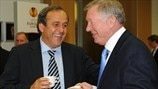 Michel Platini: Danke, Sir Alex