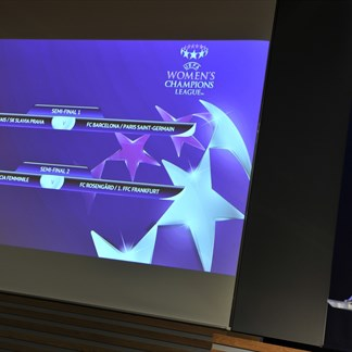UEFA Women's Chamions League semi-final draw