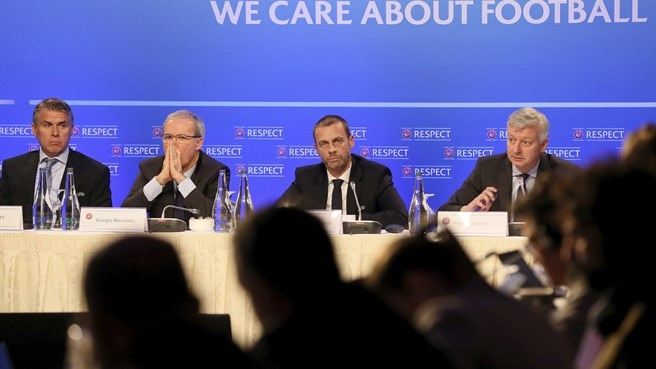 UEFA Executive Committee meeting press conference 03.12.2018