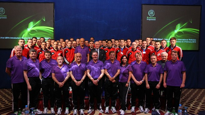 Participants - referee introductory course in Turkey
