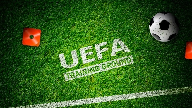 Relaunch des UEFA Training Ground