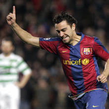 Xavi Hernandez football picture